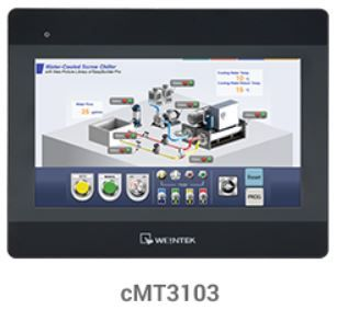 "10.1"" cMT 3103 HMI with Built-In Server and WiFi"