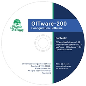 OITware-200 Configuration Software