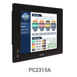 "PC2315A 15"" Heavy Industrial Panel PC"