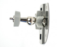 Pepwave Device Connector Wall/Pole Mount with Flexible Ball Joint
